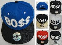 Snap-Back Flat Bill Hat [BO$$]